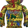 Sculpture 1000% Bearbrick - Keith Haring V5 Yellow[PRE-ORDER]