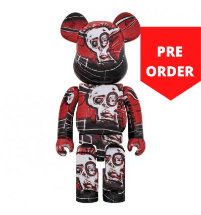 1000% Bearbrick - Jean-Michel Basquiat V5 Red[PRE-ORDER]