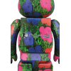 400+100% Bearbrick - Andy Warhol Flowers[PRE-ORDER]