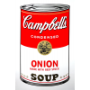 Campbell's Soup Can - Onion Art Print by Andy Warhol