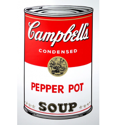 Campbell's Soup Can - Pepper Pot Art Print by Andy Warhol