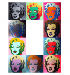 Marilyn Portfolio Print by Andy Warhol