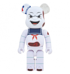 Sculpture bearbrick Angry Face - Stay Puft (Ghostbusters) 1000% by Medicom Toys