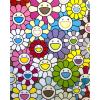 Print SMALL FLOWERS PAINTING by TAKASHI MURAKAMI