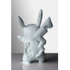 Sculpture CRYSTALIZED PIKACHU FUTURE RELIC BLUE by DANIEL ARSHAM