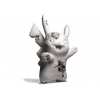 Sculpture CRYSTALIZED PIKACHU FUTURE RELIC WHITE by DANIEL ARSHAM