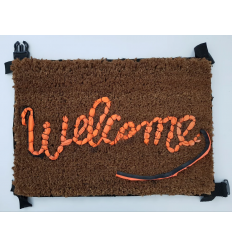 Rug WELCOME by BANKSY