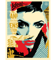 Print IDEAL POWER by SHEPARD FAIREY alias OBEY