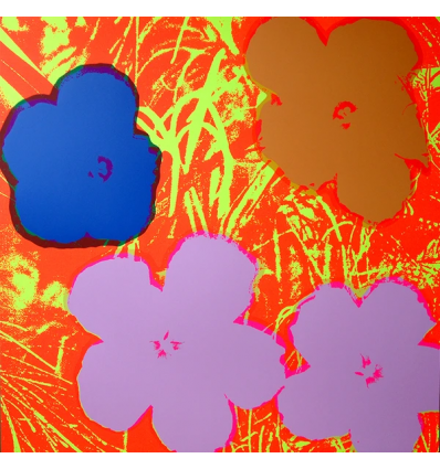 Print Flowers 11.69 by Andy Warhol