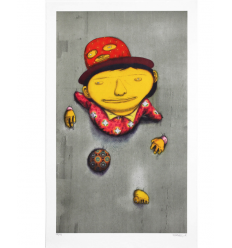 Print The Other Side by Os Gemeos
