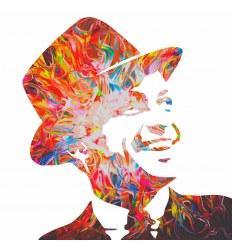 Affiche Sinatra by Sarkis
