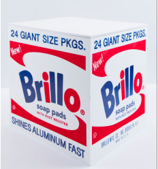 BRILLO BOX WHITE by ANDY WARHOL