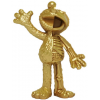 Sculpture Elmo Gold Hidden Dissectables by Jason Freeny