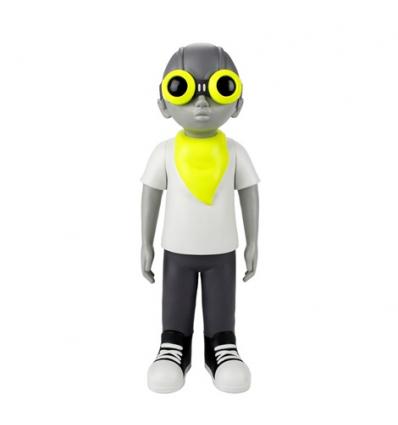 Sculpture Flyboy Volt Mellow by Hebru Brantley