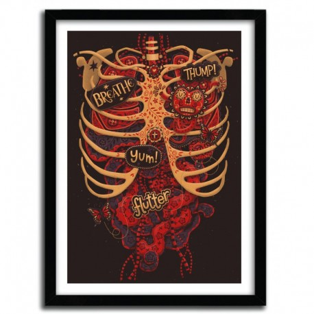 Affiche ANATOMICAL STUDY by STEVE SIMPSON