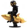 Sculpture BEYOND THE BEYOND BLACK GOLD by Hebru Brantley