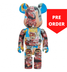 1000% Bearbrick - Jean-Michel Basquiat V6 Robot King