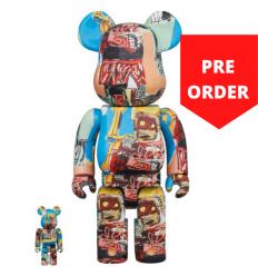 1000% Bearbrick - Jean-Michel Basquiat V6 Robot King[PRE-ORDER]