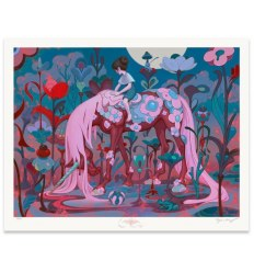 Print TRAVELER, DUSK by JAMES JEAN