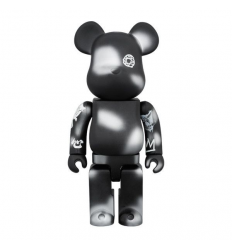 Sculpture bearbrick 400% Futura Unkle Black