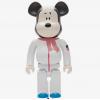 Sculpture bearbrick 1000% Astronaut Snoopy