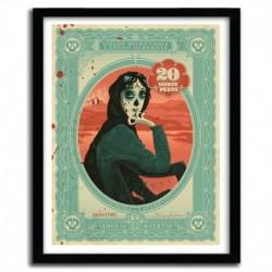 Affiche SEÑORA LAVERY by STEVE SIMPSON
