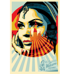 Print TARGET EXCEPTIONS by SHEPARD FAIREY alias OBEY