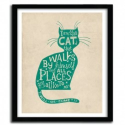 Affiche THE CAT by STEVE SIMPSON