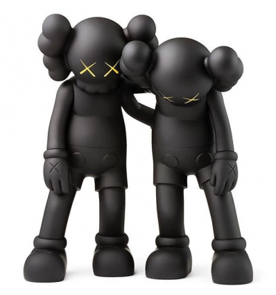 Sculpture Along the Way (Black) by Kaws
