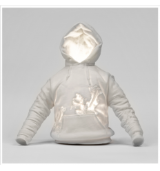 Sculpture ERODED SWEATSHIRT by DANIEL ARSHAM