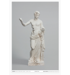 Print Quartz Eroded Venus of Arles poster by DANIEL ARSHAM
