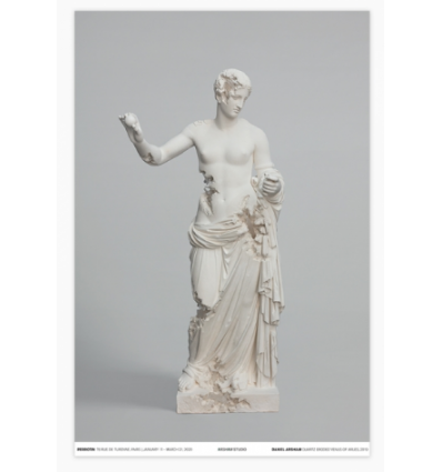 Print Quartz Eroded Venus of Arles poster by DANIEL ARSHAM