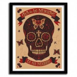 Affiche DIA DE LOS MUERTOS by STEVE SIMPSON