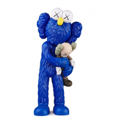 Sculpture Take Blues by KAWS