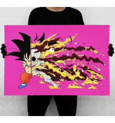 Print GOKU DRAGON BALL Z DECONSTRUCTED KAKAROTTO by MATT GONDEK