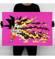 Print GOKU DRAGON BALL Z DECONSTRUCTED KAKAROTTO by MATT GONDEK