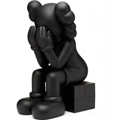 Sculpture Passing Through Black 2013 by KAWS