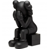 Sculpture Passing Through Brown 2013 by KAWS