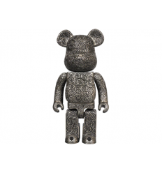 Sculpture Bearbrick Royal Selangor Arabesque 400% Black