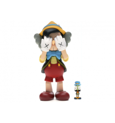 Sculpture Pinocchio & Jiminy Cricket by KAWS