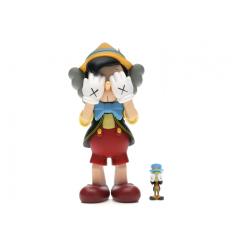 Sculpture Pinocchio & Jiminy Cricket by KAWS