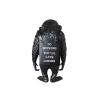 Sculpture Monkey Sign Black Reverse by BANKSY