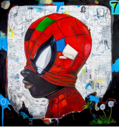 Print The Webs We Weave by Hebru Brantley