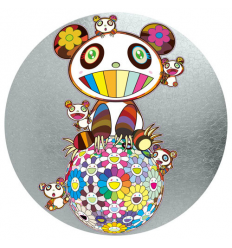 Print PANDA AND PANDA CUBS by TAKASHI MURAKAMI