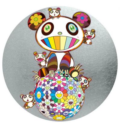 Print PANDA AND PANDA CUBS by TAKASHI MURAKAMI