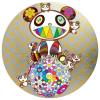 Print PANDA AND PANDA CUBS AND FLOWER BALL by TAKASHI MURAKAMI