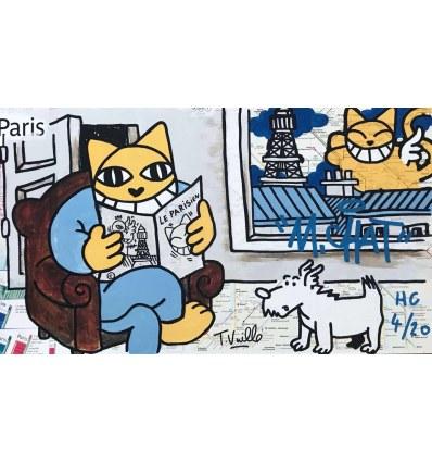 Print PARISIEN by MR.CHAT
