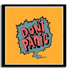 Affiche don t panic by DasistLeyli
