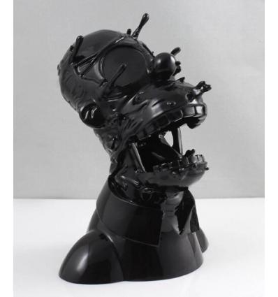 Sculpture DECONSTRUCTED HOMER BLACK by GONDEK