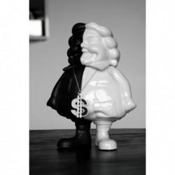 Mc Supersized Black & White by Ron English & K.olin Tribu